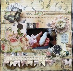 Paper Prima, stamps Bo Bunny macho