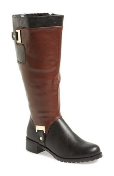 Free shipping and returns on BELLA VITA 'Anya II' Riding Boot (Wide Calf) (Women) at Nordstrom.com. A two-tone finish underscores the vintage appeal of a definitive riding boot accented with polished goldtone hardware.