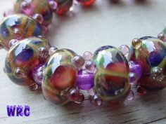 Tutorial: 'Ruby Gold & Silver Beads' - WetCanvas