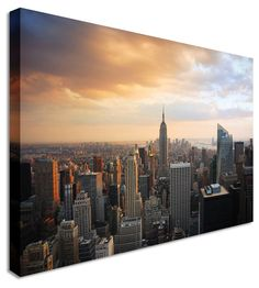NYC New York by City Art Canvas Printers, Canvas Art Cheap Prints by www.canvastown.co.uk