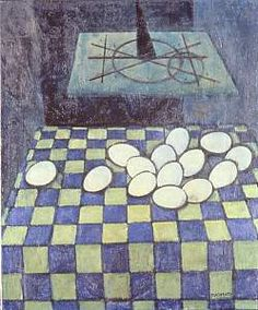 Felice Casorati  Le uova sul tappeto
