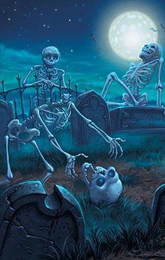 ☆ Detail Halloween Art -::- Artist Tim Jessell ☆