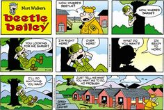 Beetle Bailey strip for July 10, 2016