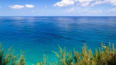 El Cielo Nublado Horizonte Mar