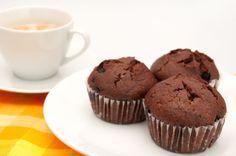 Muffiny s dávkou čokolády