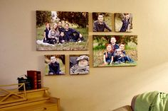 Hanging several pictures in a straight line can seem a bit daunting, but keep reading and your photo hanging fears will flee! I'm going to teach you how to hang a photo collage using a simple…