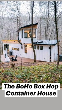 Shed To Tiny House, Tiny House Living, Yurt Living, Small Living, Container House Design, Container Office, Container Houses, New House Plans, Small House Plans