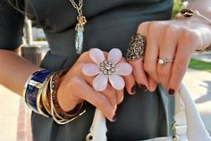 can't do big rings but do love the bracelets!