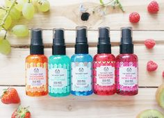 The new face mists