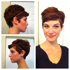 112 Best Pixie Hairstyles For Oval Faces Images On Pinterest