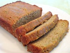 Homemade bread and butter is hard to beat. Now you can enjoy a slice of fresh-out-of-the-oven zucchini bread, gluten free! Coconut Flour Recipes, Gf Recipes, Whole Food Recipes, Snack Recipes, Cooking Recipes, What's Cooking, Healthy Recipes, Snacks, Dairy Free Bread