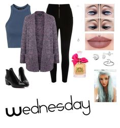 """Wednesday"" by isabellasmall on Polyvore featuring Topshop, River Island, Itsy Bitsy, Juicy Couture, Miss Selfridge, women's clothing, women, female, woman and misses"
