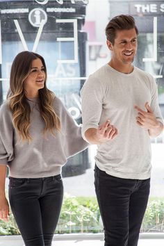 Mitchell Gold + Bob Williams | JoJo and Jordan's First Home. The Bachelorette's JoJo Fletcher and fiancé Jordan Rodgers arrive at our Dallas Signature Store to furnish their new home. The couple had said what they really couldn't wait to do together was go furniture shopping. We invited them in! Stay tuned: Room by room photos of what they chose coming soon.