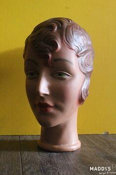 Vintage hoofd