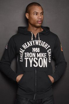 7869ecf76aa79 Iron Mike Tyson 1988 French Terry FZ Hoody Roots Of Fight