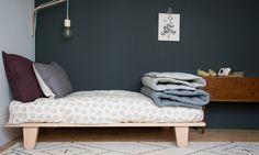 Cosy bedding in beautiful tones