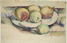 Cézanne, Still Life of Peaches and Figs