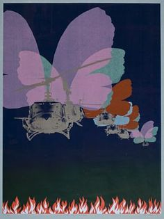 "Per Kleiva ""Amerikanske sommerfuglar"" 1971 Different Kinds Of Art, Just Do It, Superhero Logos, Pop Art, Objects, Butterfly, Abstract, Artwork, Painting"
