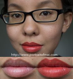 Limnit Lipsticks New Collection/Formula Swatches and Review :: Punkin'