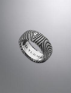 David Yurman | Men | Band Rings: Ironwood Band Ring, 10mm