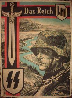 Waffen SS Das Reich poster The Beautiful Vaterland