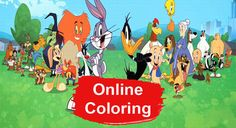 Bugs Bunny Online Coloring Pages Rabbit Colors, Online Coloring Pages, Bugs Bunny, Disney Characters, Fictional Characters, Pictures, Animals, Art, Photos