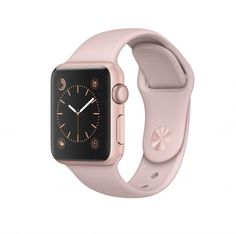 Apple Watch Series 1 roségoud alu 38mm rozenkwarts sportbandje  SHOP ONLINE: http://www.purelifestyle.be/shop/view/technology/apple-watch/apple-watch-series-1-rosegoud-alu-38mm-rozenkwarts-sportbandje