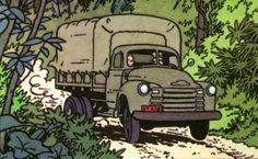 Tintin and the Picaros - Chevrolet 1951