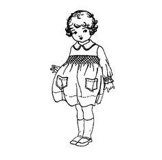 **FREE ViNTaGE DiGiTaL STaMPS**: FREE Vintage Digital Stamp - Sweet Little Girl