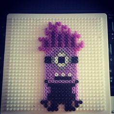 Evil Minion Despicable Me2 hama beads by crisredhead