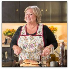 """Nancy Fuller, the host of the Food Network's """"Farmhouse Rules,"""" offers straight talk on cooking, farm life and parenting. Top Recipes, Chef Recipes, Potato Recipes, Cooking Recipes, Recipies, Food Network Star, Food Network Recipes, Nancy Fuller, Farmhouse Rules"""