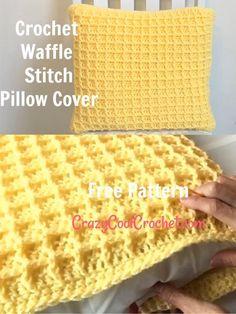 Crochet Cushion Pattern Free, Cushion Cover Pattern, Free Pattern, Chunky Crochet Blanket Pattern Free, Crochet Patterns Filet, Knitted Cushion Covers, Knitted Cushions, Crochet Pillow Covers, Crochet Throws