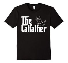 Men's The Catfather T-Shirt | Funny Cat Lover T-Shirts Sm... https://www.amazon.com/dp/B01N77MYB8/ref=cm_sw_r_pi_dp_x_b3WMybJ9Z9EMK   #National_Love_Your_Pet_Day #Love_Your_Pet_Day_2017 #I_Love_My_Pet