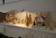 Sparkly city ~ VREELAND ROAD: A beautiful holiday home tour