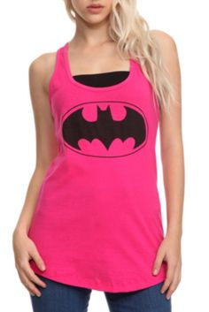 DC Comics Batman Girls Tank Top