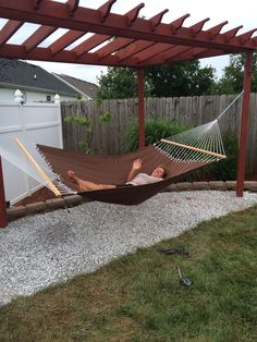 Pergola hammock stand.: | Porches | Pinterest | Hammock stand ... on deck hammock ideas, bedroom hammock ideas, fire pit hammock ideas, garden hammock ideas,