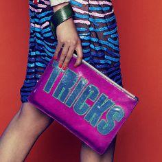 House Of Holland Tricks clutch bag. www.handbag.com