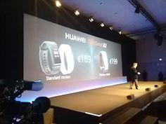 169 y 199 euros para la versión premium, a finales de abril en el mercado