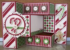 168 best tri fold shutter cards images on pinterest fancy fold tried shutter christmas card m4hsunfo