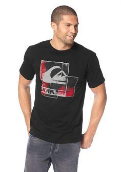 Produkttyp , T-Shirt, |Pflegehinweise , Maschinenwäsche, |Materialzusammensetzung , Obermaterial: 100% Baumwolle, |Stil , Sportlich, |Optik , Unifarben, |Farbe , Schwarz, |Applikationen , Logodruck, |Ausschnitt , Rundhals, |Qualitätshinweise , Hautfreundlich Schadstoffgeprüft, |Auslieferung , Liegend, | ...