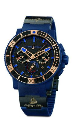 Ulysse Nardin - Voyage Bleu Chronograph L.E.