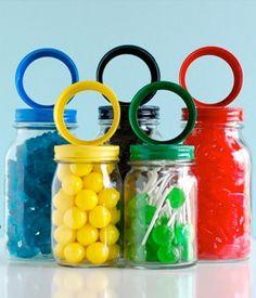 summer olympics paper plates | DIY Backyard Olympics « Canadian Family