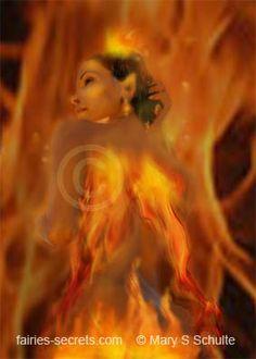 Pari - A beautiful fairy born of fire