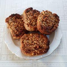 Smink&Cake: Fahéjas almás diós csiga (paleo)