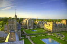 Berry College is located about an hour north of Atlanta.