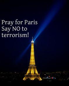https://flic.kr/p/ApL4HG | Pray for Paris - Say NO to terrorism! | Pray for Paris - Say NO to terrorism!