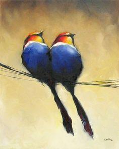 Harold Braul - Bird Series | art | Pinterest