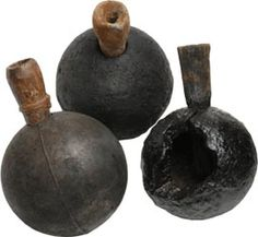 Grenado The Grenado, or powder flask were in essence an early form of the hand grenade in common use by 1700. This early form of the hand grenade was not very reliable and often proved to be very dangerous to the user. The Grenados used by pirates were small hollow balls that were about two ounces in weight. They were made of iron, glass or wood and filled with gunpowder and they had a fuse that was lit just before being thrown at the intended target.As a practical weapon it was very much…