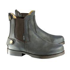 Horze Back Zip Paddock Boots