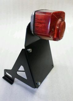 Numberplate Relocation Bracket, Honda Cub – Custom Cuba street cub